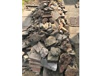 Stones / bricks. FREE to collector