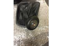 Genuine bmw e46 m3 illuminated gear gaiter knob