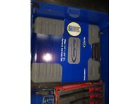 Brand new in opened 100 piece blue point by snap on general service set