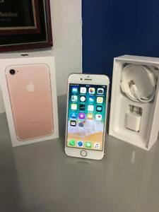 iPhone 7 32 Go  Rose-Gold garantie 6 mois/ warrantied 6 months