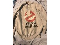 Womens Ghostbusters Jumper Size Small