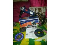 Draper 600w angle grinder In working order
