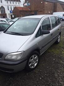 Vauxhall Zafira Cheap Family Car