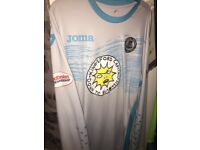 Signed matchworn Tomas Cerny football shirt
