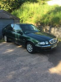 Rover 45 breaking only 41,000 miles