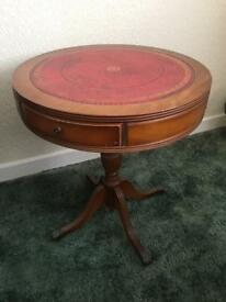 Vintage Antique Round Side Occasional table