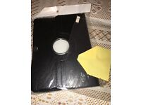 """Brand new 360 Rotation Leather Case Stand Cover For Samsung Galaxy tab 4 10.1"""" black £5"""