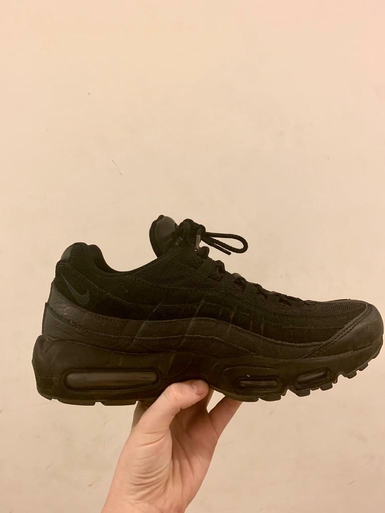 info for 2bf0c 0b310 Nike air max 95 - black suede and leather | in Hackney, London | Gumtree