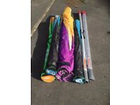 Gaastra windsurf sails and masts - Complete quiver or buy seperately