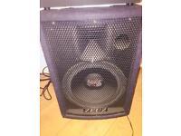 2 zeuz speakers and soundlab mixer for sale