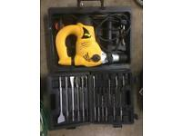 Wolf hammer drill and bits