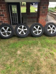 $550  Selling my 17-inch rims it's in a perfect shape.