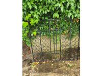 black iron double gates 46 inches (Each)