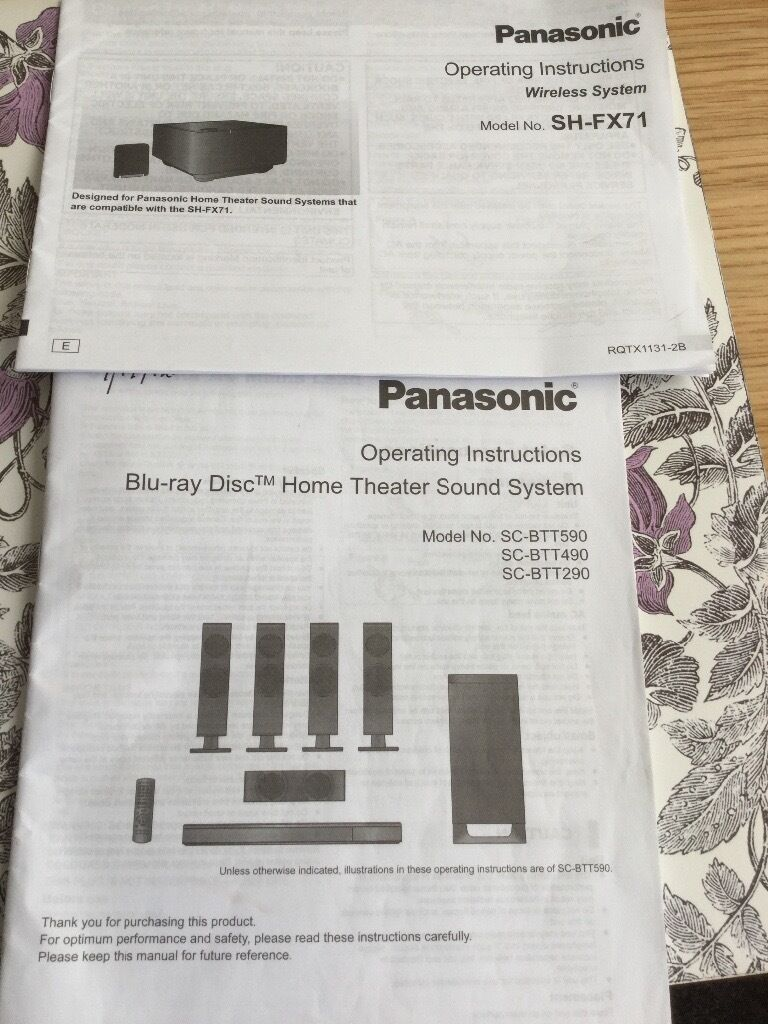 Panasonic home theatre system in exeter devon gumtree panasonic home theatre system publicscrutiny Choice Image