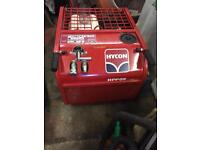 Hycon HP009 hydraulic concrete breaker complete with 4 chisels, Honda 9hp engine like new