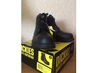 Dickies Cleveland FA23200 BK 9 ** BLACK UK 9 EURO 43 ** AS NEW!