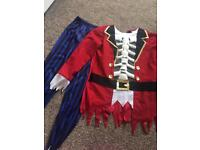 AGE 10-11 MORRISONS PIRATE HALLOWEEN COSTUME RRP £12.99 can deliver lots on sale