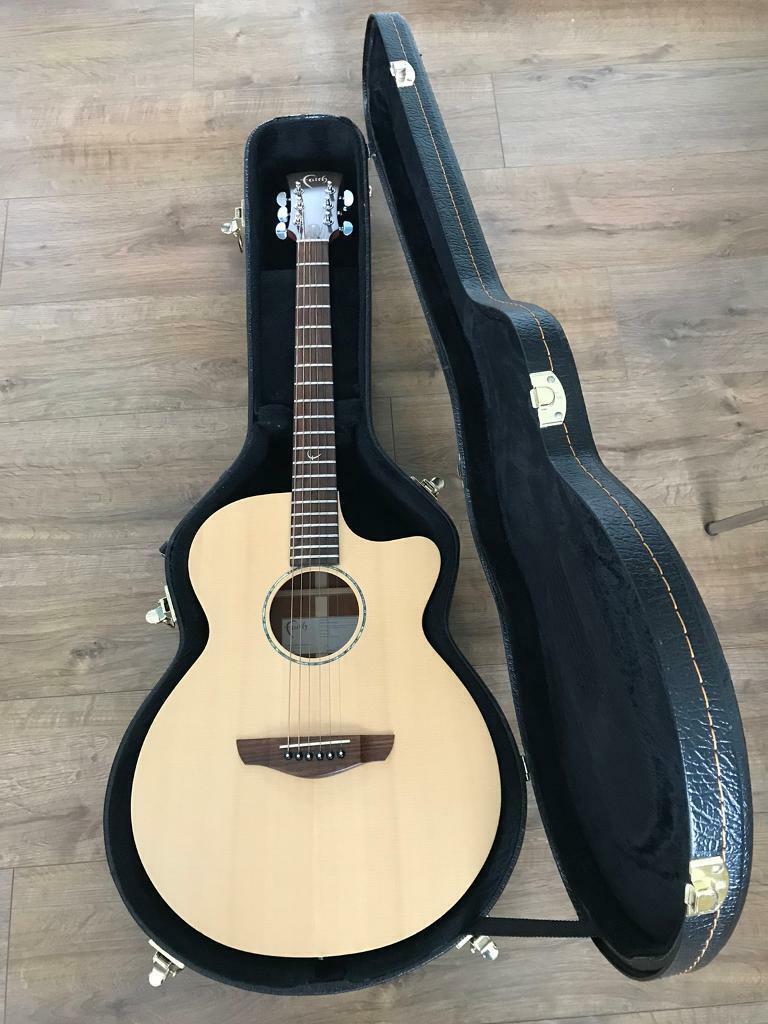 Faith FKVBK Naked Venus Cutaway Electro Acoustic Guitar