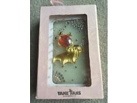Takefans iphone 4 cover handmade crystal diamond fish