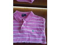 Ralph Lauren Polo Shirt Pink (XL/Large)