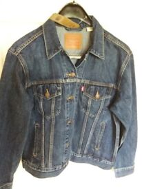 Ladies New Levi Denim Jacket