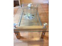 Italian glass coffee table from maskreys