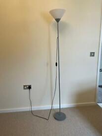 Tall study fan light