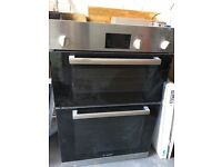 Bosch integrated electric double oven (HBM13B150B)