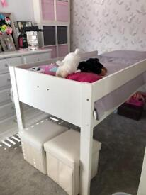 Kids cabin style bed( loads of room underneath