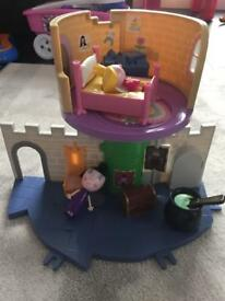 Ben and Holly thistle castle play set l