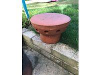 Terracotta chimney flue cowl