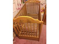 Mammas and Papa's cot for sale