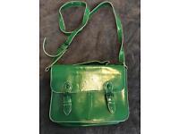 Topshop green bag