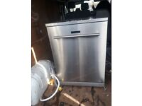 Kenwood stainless stell dishwasher full working order collection or deliver for the right price