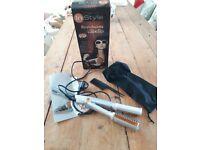 Hair dryer/straightener