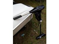 Electric outboard engine , hardly used, Water snake, extending arm, ideal back up or loch fishing.