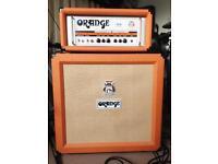 Orange TH30 head and Orange closed back PPC410 speaker
