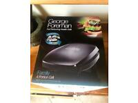 George Foreman 18471 Family 4 Portion Family Grill - Used once