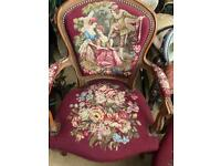 Antique pair of the chairs
