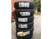 6 X DUNLOP Security Tyres - 155/70R-12 - BARGAIN!!! Half RRP