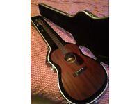 Sigma 000m-15 guitar with Fishman pickup & hardcase