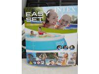 Intex 6ft easy set paddling pool brand new boxed ordered 2 in error!