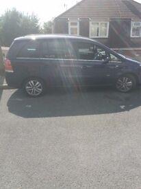 Vauxhall zafira design 1.8i 16v