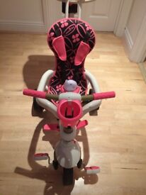 Girls Smart Trike. Hardly used so like new. Can be used from 10 months - 3 years.