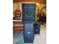 IMG Stageline PA Speakers