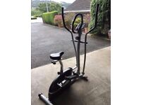 BARGAIN - V-fit MCCT-1 Magnetic 2-in-1 Cycle Elliptical Cross Trainer & Mat