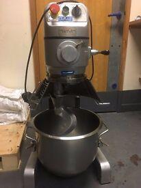 Dough mixer, 20L mixer for dough, batter, pastry