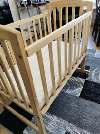 Wooden baby bed - free