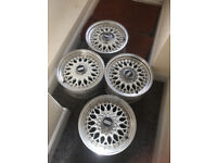 4X 15inch BBS alloys wheel multi-fit 100 & 108 VW