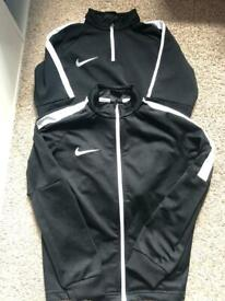 2 Nike tracksuit tops (Small boys)